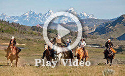 video of our guest ranch in Jackson Hole, Wyoming: Goosewing Ranch