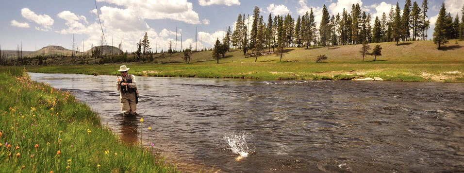 Fly Fishing on Snake River Valley