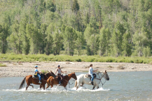 Riding the River