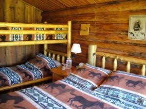Goosewing Ranch rental cowboy cabin
