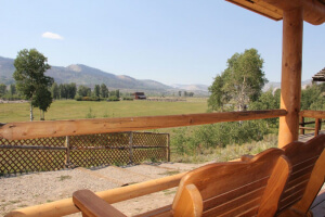 Gooswing Ranch Pioneer Cabin outdoors