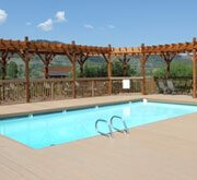 Swimming Pool at Our Dude Ranch in Jackson Hole: Goosewing Ranch