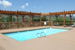 ultimate dude ranch vacation families Swimming Pool at Goosewing Ranch