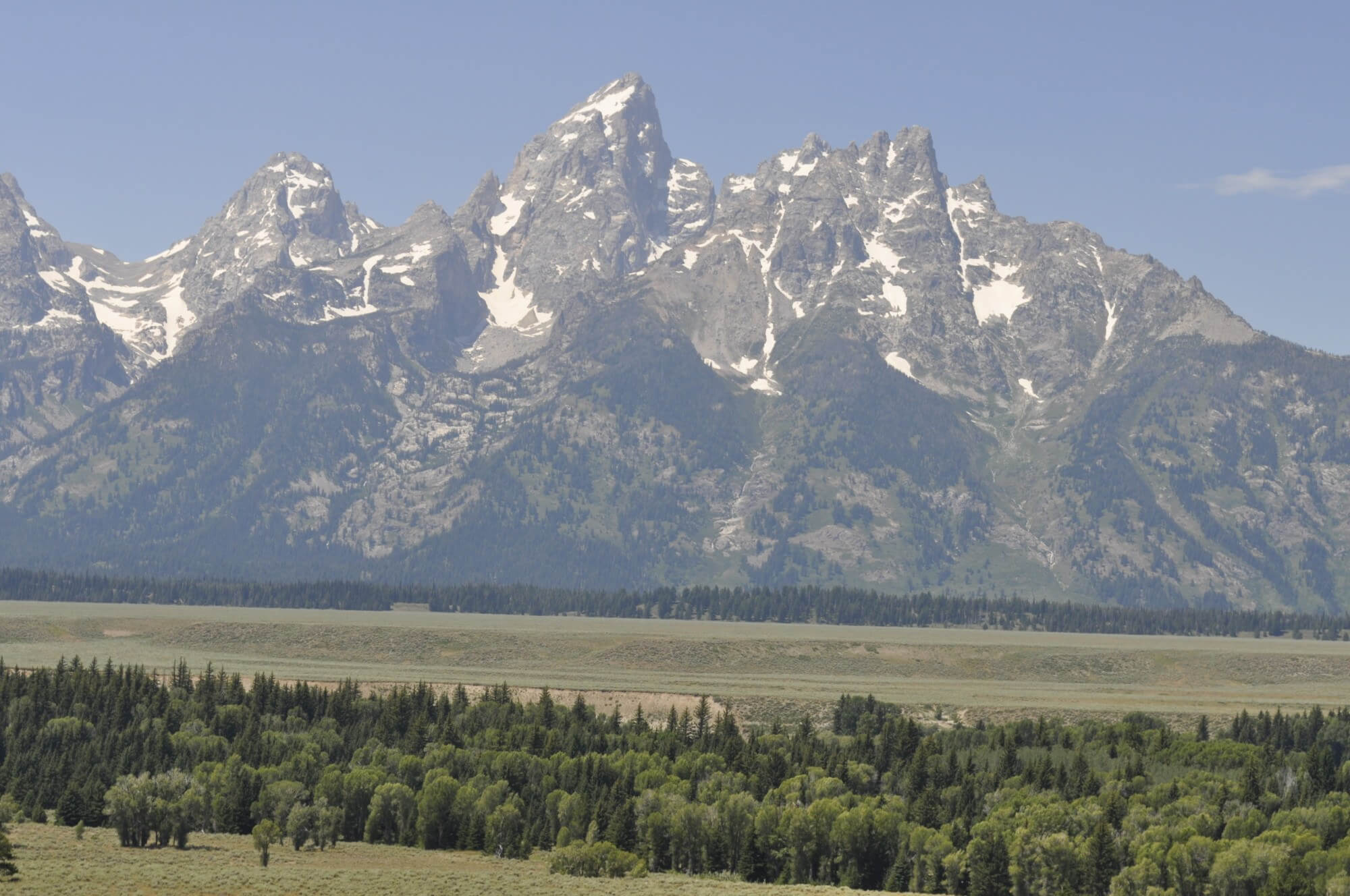 The Grand Tetons are a highlight of any visit to Jackson Hole, Wyoming.