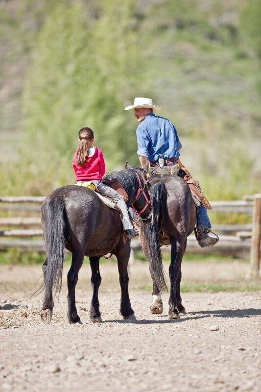 Little buckaroos can be ready to ride using our Dude ranch packing tips
