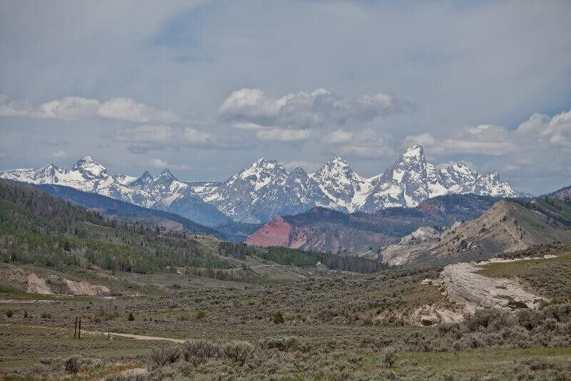 A Wyoming vacation wouldn't be complete without a visit to the Grand Teton National Park to see the Grand Tetons.