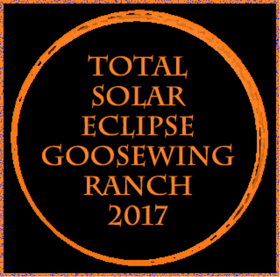 Total Solar Eclipse at Goosewing Ranch