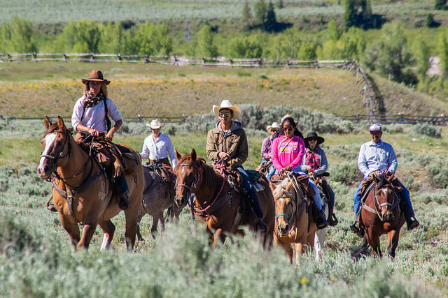 Jackson Hole trail riding is an adventure for kids and adults, from beginner to advanced horseback riders.