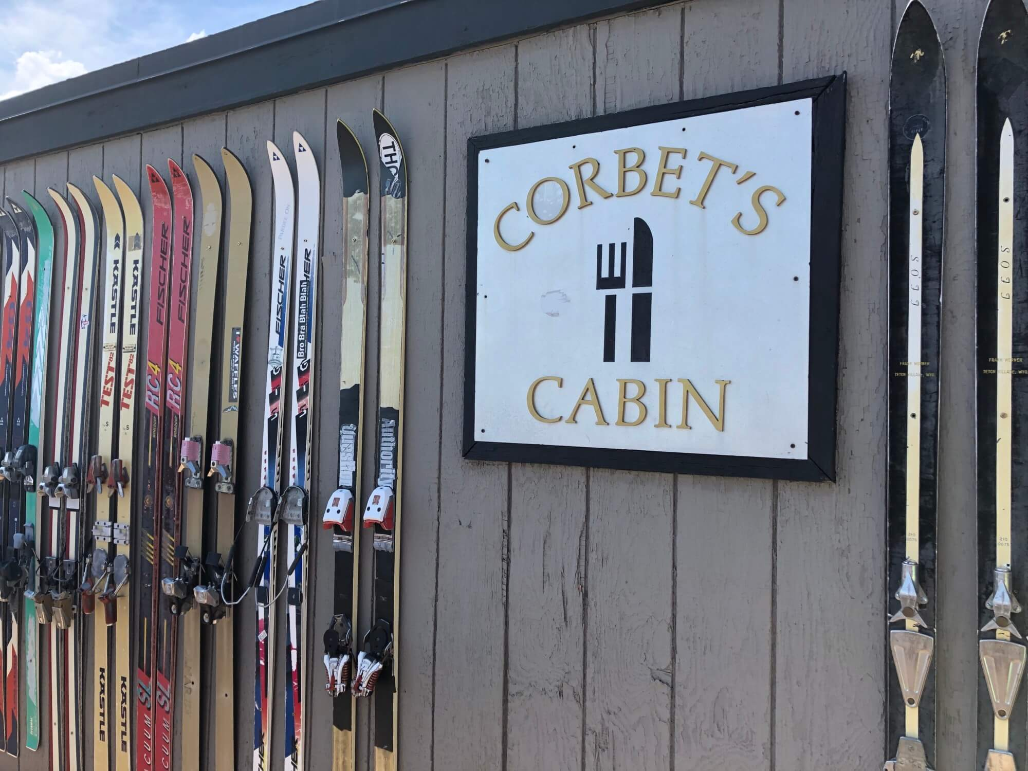 Corbet's Cabin has gorgeous views and delicious food served at 10, 450 feet.