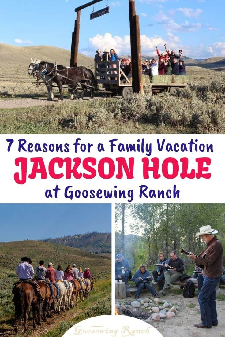 Planning a family vacation can be stressful. With such a wide range of ages and diverse interests, it can be hard to choose a venue that will please everyone. Well, we believe we have found the solution to pleasing all. Goosewing Ranch in Jackson Hole, Wyoming has something for everyone, no matter their age or interest.We offer Goosewing Ranch as your home base for a phenomenal family vacation and would love to share our 7 reasons why. #JacksonHole #familyvacation #Wyoming #guestranch #duderanch
