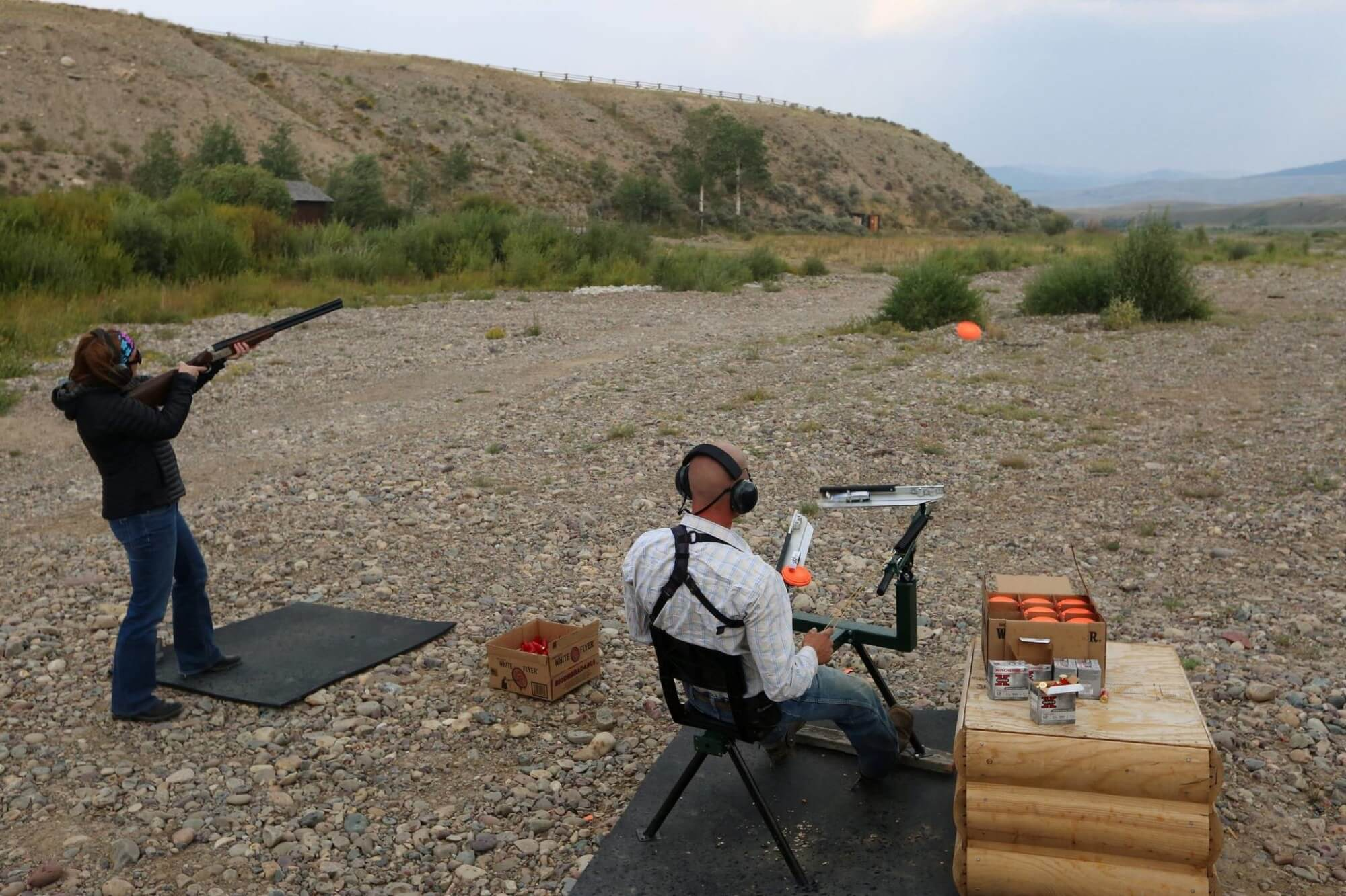 Jackson Hole family vacation at a dude ranch includes new activities like skeet shooting.